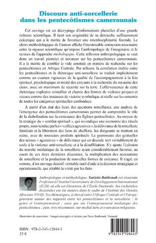 4eme Discours anti-sorcellerie dans les pentecôtismes camerounais