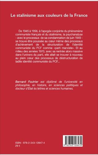 4eme Le stalinisme aux couleurs de la France