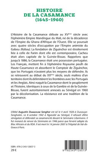 4eme Histoire de la Casamance (1645-1960)