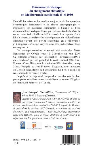 4eme Dimension stratégique du changement climatique en Méditerranée occidentale d'ici 2050