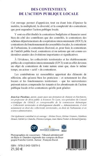 4eme Des contentieux de l'action publique locale