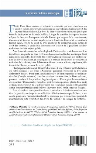 4eme Le droit de l'édition numérique