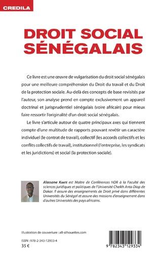 4eme Droit social sénégalais
