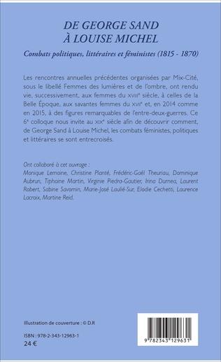 4eme De George Sand à Louise Michel