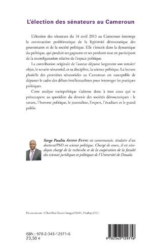 4eme L'élection des sénateurs au Cameroun