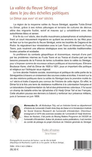 4eme La vallée du fleuve Sénégal dans le jeu des échelles politiques