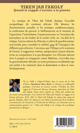 4eme Tiken Jah Fakoly Tome 2 Penser et panser l'Afrique