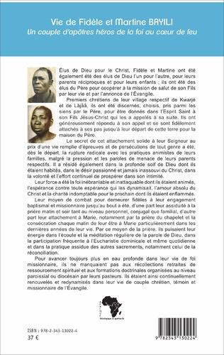 4eme Vie de Fidèle et Martine Bayili