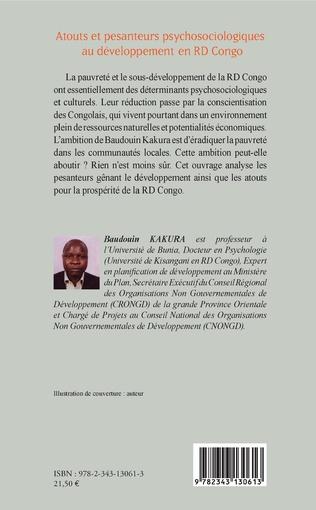 4eme Atouts et pesanteurs psychosociologiques au développement en RD Congo