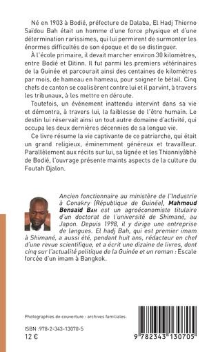 4eme Biographie et lignée d'El Hadj Thierno Saidou Bah