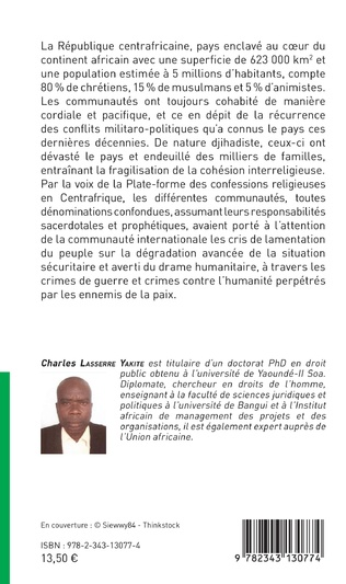 4eme La cohésion interreligieuse en Centreafrique