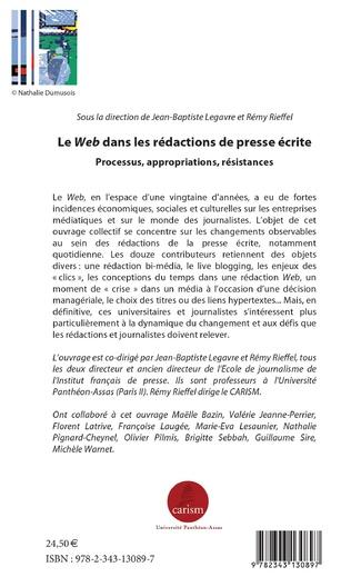 4eme Le Web dans les rédactions de presse écrite