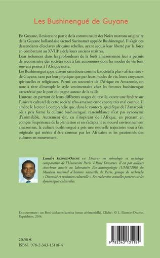 4eme Les Bushinengué de Guyane
