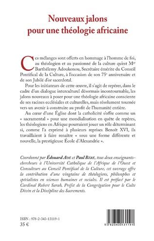 4eme Nouveaux jalons pour une théologie africaine