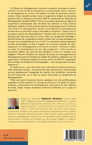 4eme Le manuel du développement