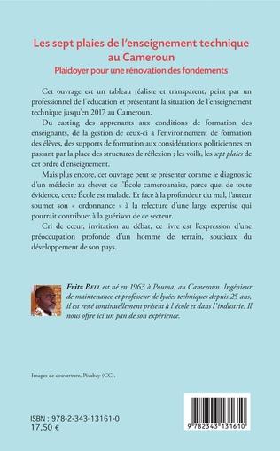 4eme Les sept plaies de l'enseignement technique au Cameroun