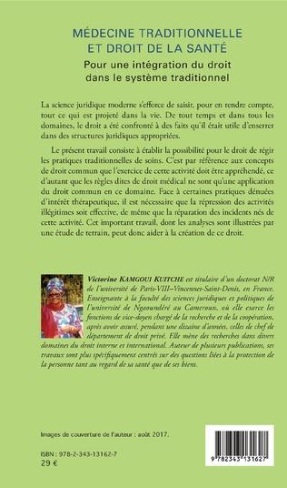 4eme Médecine traditionnelle et droit de la santé