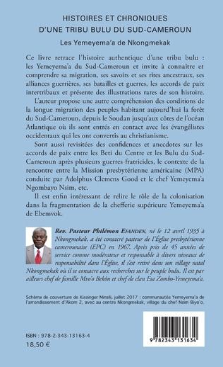 4eme Histoires et chroniques d'une tribu bulu du Sud-Cameroun