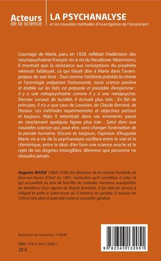 4eme La psychanalyse