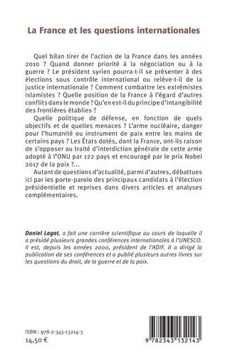 4eme La France et les questions internationales
