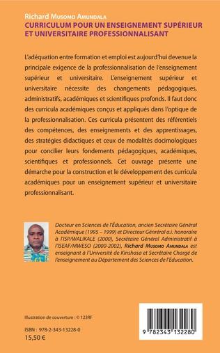 4eme Curriculum pour un enseignement supérieur et universitaire professionnalisant
