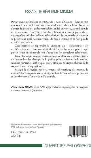 4eme Essais de réalisme minimal
