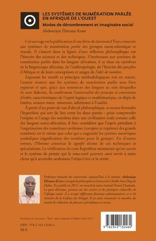 4eme Les systèmes de numération parlée en Afrique de l'Ouest