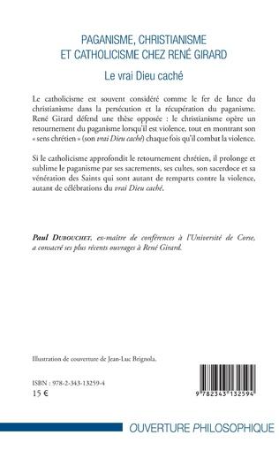 4eme Paganisme, christianisme et catholicisme chez René Girard