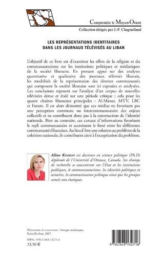 4eme Les représentations identitaires dans les journaux télévisés au Liban