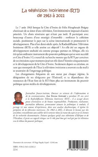 4eme La télévision ivoirienne (RTI) de 1963 à 2011