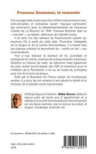 4eme Franswa Sintomer, lo maronèr