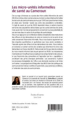 4eme Les micro-unités informelles de santé au Cameroun