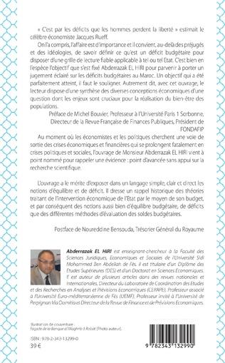 4eme Les déficits budgétaires au Maroc