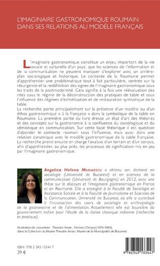 4eme L'imaginaire gastronomique roumain dans ses relations au modèle français