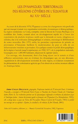 4eme Les dynamiques territoriales des régions côtières de l'Equateur au XXe siècle