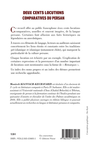 4eme Deux cents locutions comparatives du persan
