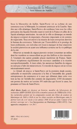 4eme Le monde du négoce à Saint-Pierre sous la Monarchie de Juillet