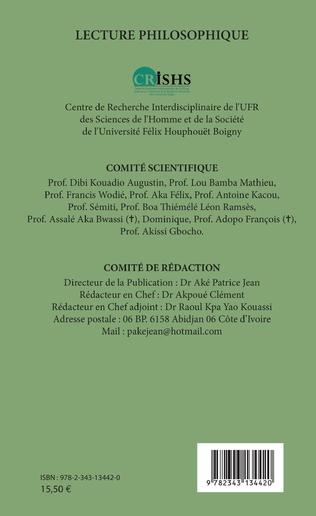 4eme Lecture philosophique