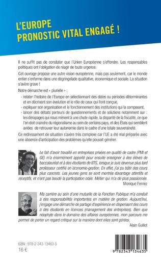 4eme L'Europe pronostic vital engagé!