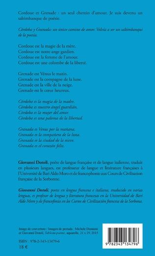 4eme Mon rêve à Cordoue avec un hommage à Grenade