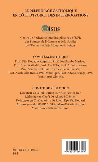 4eme Le pèlerinage catholique en Côte d'Ivoire :