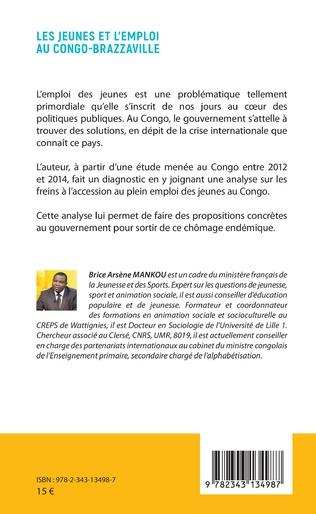 4eme Les jeunes et l'emploi au Congo-Brazzaville
