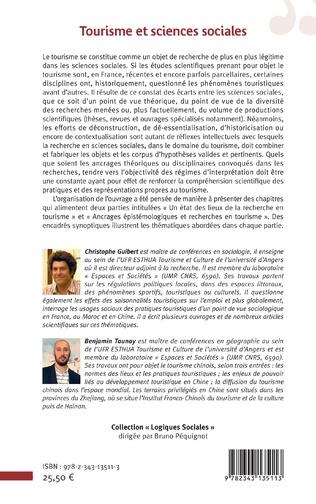 4eme Tourisme et sciences sociales