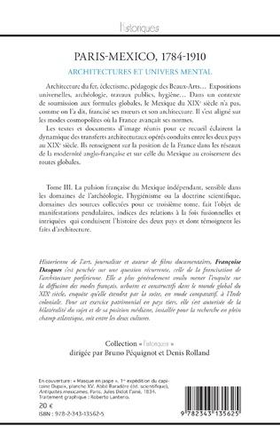 4eme Paris - Mexico, 1784-1910