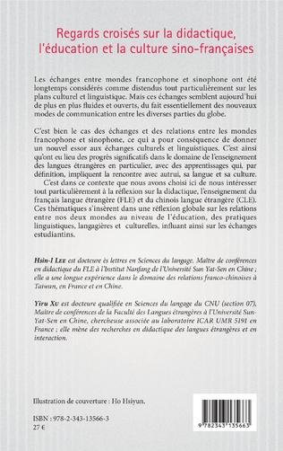 4eme Regards croisés sur la didactique, l'éducation et la culture sino-françaises
