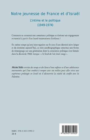 4eme Notre jeunesse de France et d'Israël