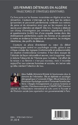 4eme Les femmes détenues en Algérie