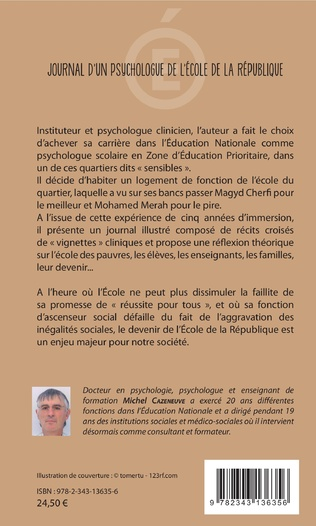 4eme Journal d'un psychologue de l'École de la République