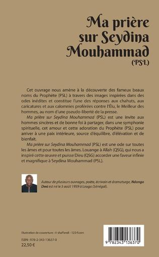 4eme Ma prière sur Seydina Mouhammad (PSL : La Paix Soit sur Lui)