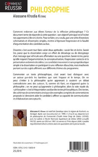 4eme Les épreuves de la dissertation et du commentaire philosophiques en classe de terminale
